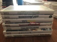 Nintendo Wii 7 Game Bundle. Need For Speed, Transformers, Shrek, Avatar,
