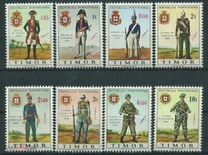 PORTUGAL Timor 1967 uniforms set (MNH)