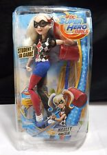 """DC Super Hero Girls Harley Quinn 12"""" Action Doll (STUDENT ID CARD ) RC"""