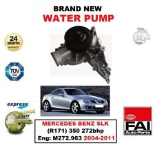 FAI Bomba de agua para MERCEDES BENZ SLK (R171) 350 272bhp MOTOR : m272.963