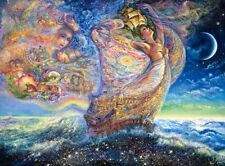 OCEAN OF DREAMS New JOSEPHINE WALL Artist Buffalo Glitter Jigsaw Puzzle RARE NIB