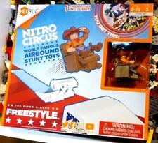 Hexbug Nitro Circus Freestyle Ramp Airbound Stunt Toys Playset Cowboy Character
