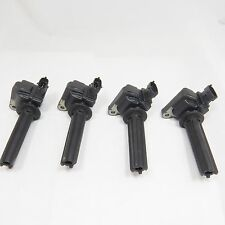 Set of 4 Ignition Coils For Saab 9-3 & 9-3X 2.0 Turbo Ref#12787707 UF526