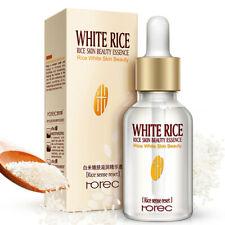 White Rice Serum Face Whitening Moisturizing Essence Anti Acne Aging Wrinkle