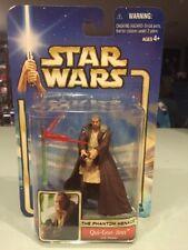 Qui-Gon Jinn Jedi Master Phantom Menace TPM E1 Star Wars Saga 2002 #32 21221