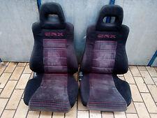 front seats seat edm LHD OEM german Honda CRX ED9 EE8 EF8 CIVIC EF9**rare*