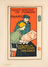 Les Maitres de l'Affiche pl.127 Wilhem Hoffmann - Dres by Otto Fischer Poster