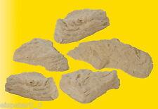 Vollmer 48300, H0 Rocas Piedra Natural, 5 Piezas, Arte De Piedra