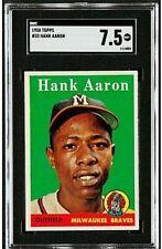 1958 Topps #30 Hank Aaron SGC 7.5