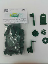 Super Ali-plugs Aluminium Greenhouse Black #1P21 Bubble Insulation Shade Clips