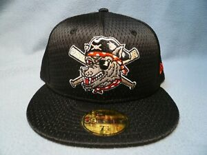 New Era 59fifty Erie SeaWolves Batting Practice Mesh NEW Fitted cap hat BP MiLB