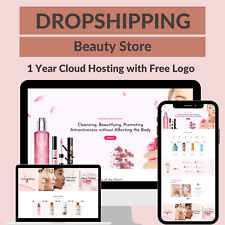 Beauty Store Amazon Business Affiliate Dropshipping Website Free 1 Year Hosting