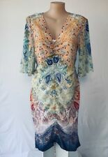 CITY CHIC plus size S (16) ☆ MIRROW ZAMBIA DRAWN UP DRESS (BNWT )+ slip Included