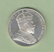 1901 Isle of Man Silver Pattern 4 Shilling Silver Crown - Proof