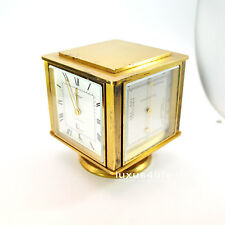 Cartier Wetterstation, 1970ties, Clock Day Date, Hygro-, Baro-, Thermometer, TOP
