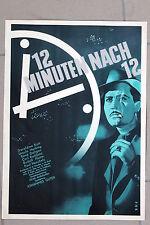 20385 FILM PLAKAT POSTER 12 Minuten nach 12 1939 mit Geraldine Katt