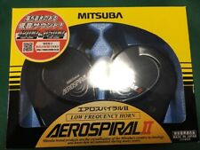 Mitsuba Aero Spiral 2 Low Frequency Horn MH13A-011A Loud Volume Made in Japan