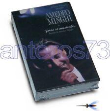 "AMEDEO MINGHI ""FORSE SI MUSICALE"" RARA VHS 1990 - SIGILLATO"