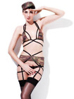 Fever Army, Private, Camouflage, Bra, Crotchless Pantie (US IMPORT) COST-ACC NEW
