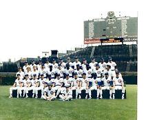 CHICAGO CUBS 8X10 TEAM PHOTOS LOT SET  OF 4  1983 1985 1986 1989 BASEBALL