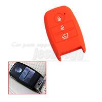 Purple Silicone Remote Key Case Holder Cover Fob For KIA Picanto Forte K5 K7