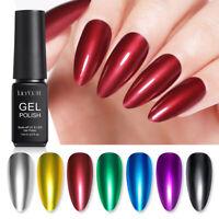 LILYCUTE 7ml Mirror Metallic UV Gel Nagellack Tränken Sie den Nail Art Gellack