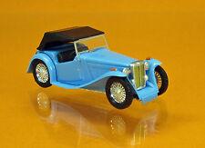 Busch 45912 MG Midget TC Cabrio geschlossen blau Scale 1 87 NEU OVP