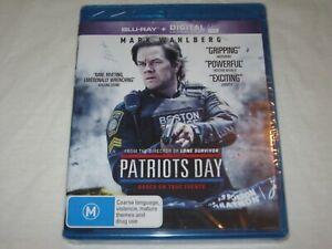 Patriots Day - Mark Wahlberg - Brand New & Sealed - Region B - Blu Ray
