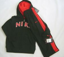 NWT NIKE ATHLETIC LIFESTYLE BOYS 2 PIECE SET HOODIE AND PANTS  FLEECE SIZE 4 T