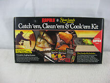 Rapala & Shore Lunch Brand Catch, Clean, & Cook'em Kit-New