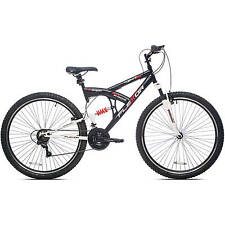 "Men's Mountain Bike 29"" Bicycle Shimano Full Suspension 21 Speed NEW"