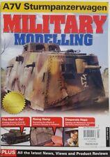Military Modelling UK June 26 2015 A7V Sturmpanzerwagon FREE SHIPPING CB