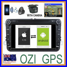 VOLKSWAGEN AMAROK 2001+ DVD CD GPS SAT NAV APPLE CARPLAY ANDROID AUTO +CAMERA