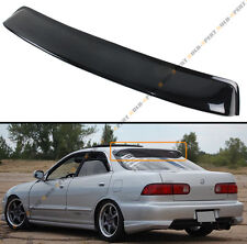 FOR 1994-01 ACURA INTEGRA 3RD GEN 4 DOOR JDM SMOKE TINTED REAR ROOF WINDOW VISOR