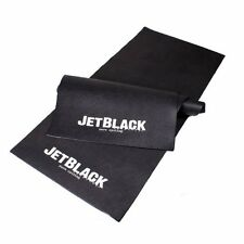 Jet Black Winter Bike Bicycle Stationary Trainer Mat NEW!
