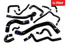 For Nissan Skyline ECR33 R33 GTS-25T RB25DET GTS Silicone Radiator Hoses Black
