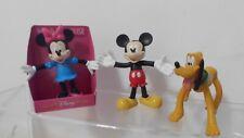 Minnie Donald Goofy Daisy Mickey Mouse Sammler 6 Biegefiguren DISNEY Pluto