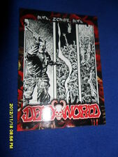 "2012 BREYGENT DEAD WORLD ZOMBIE CARD "" BURN ZOMBIE BURN  "" #25"