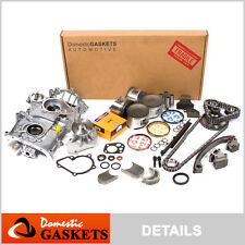 Fit 91-94 Nissan 240SX 2.4L DOHC Overhaul Engine Rebuild Kit KA24DE