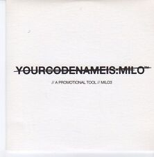 (DZ873) Your Code Name Is Milo, I Am Connecting Flight - 2004 DJ CD