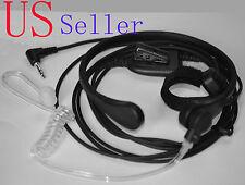 Throat Mic Headset/Earpiece Cobra Radio Walkie Talkie Finger PTT CXT175 CXT225