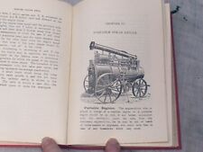 Steam Engine Book Traction Engine Boiler Portable Stationary Marshall Fowler