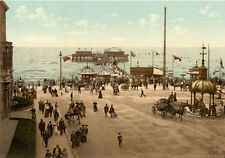 "P1 Vintage 1890's Photochrom Photo North Pier Blackpool - Print A3 17""x12"""