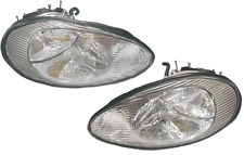 96 97 98 99 Sable Left & Right Headlight Headlamp Lamp Light Pair L+R