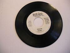 KRISTINE Felony/Same 45 RPM 1983 Rock n Roll Records VG+ promo