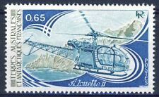 TIMBRE T.A.A.F.  N° 93 ** AVION HELICOPTERE ALOUETTE II