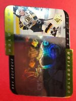 1996-97 Upper Deck SP Holoview Die Cut #HC23 Ray Bourque Boston Bruins Insert