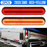 2X 100 LED Trailer Truck Stop Flowing Turn Signal Brake Rear Tail Light 12V-24V