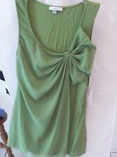 Woman's Green Sleeveless Blouse from Forever Fashion Size M NWT