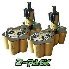 DeWALT 18 Volt DC9096 Battery Replacement Internals TENERGY 2.2Ah NiCd 2PK